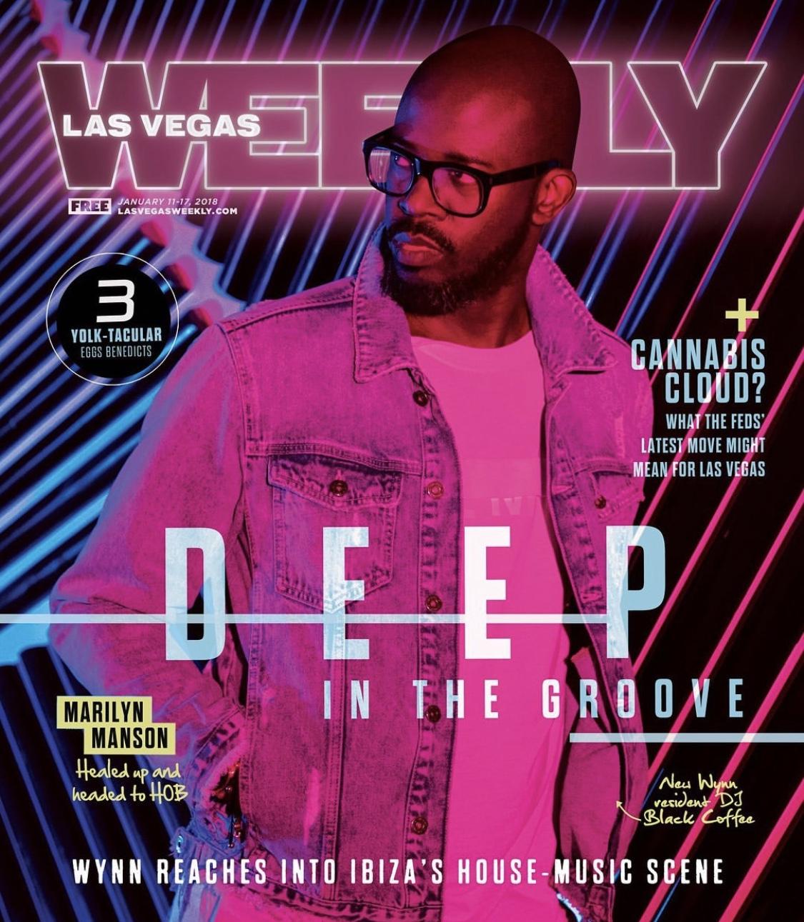 TECHNO DJ'S FEATURETTE - LV WEEKLY 2018