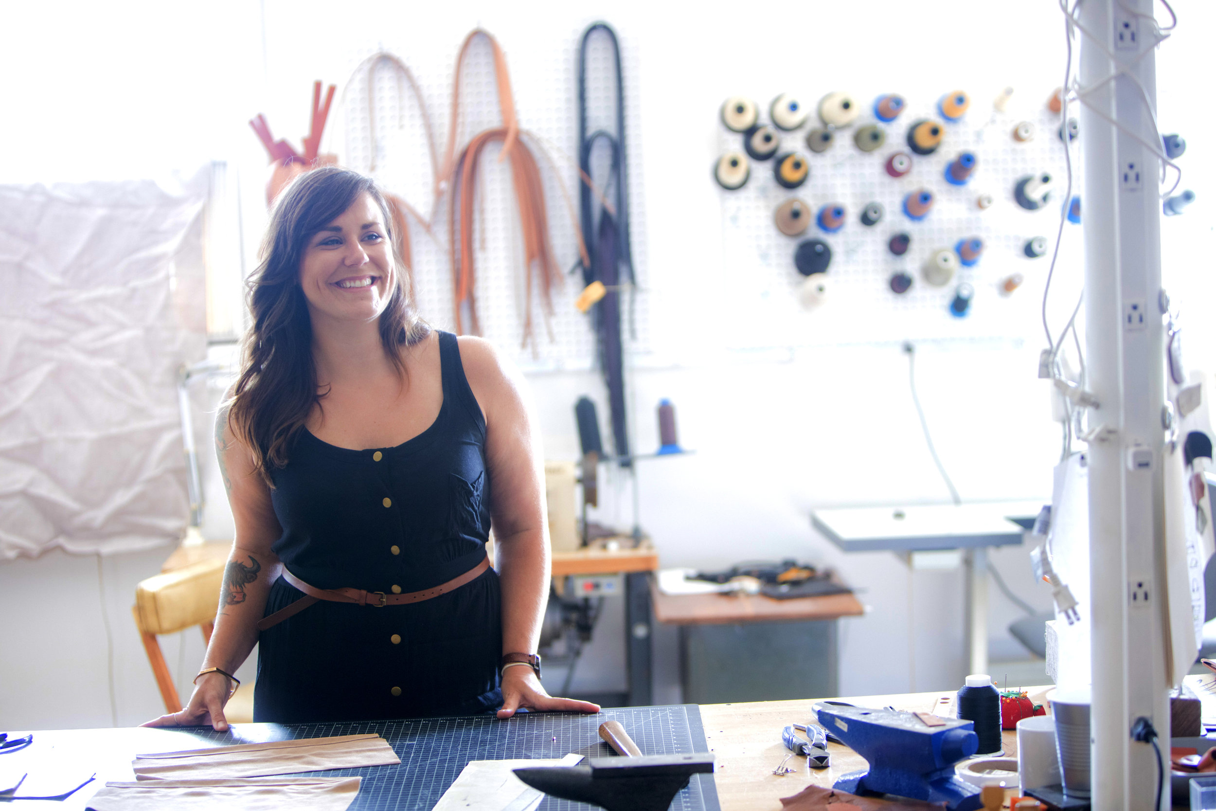 Erin, founder of Awl Snap