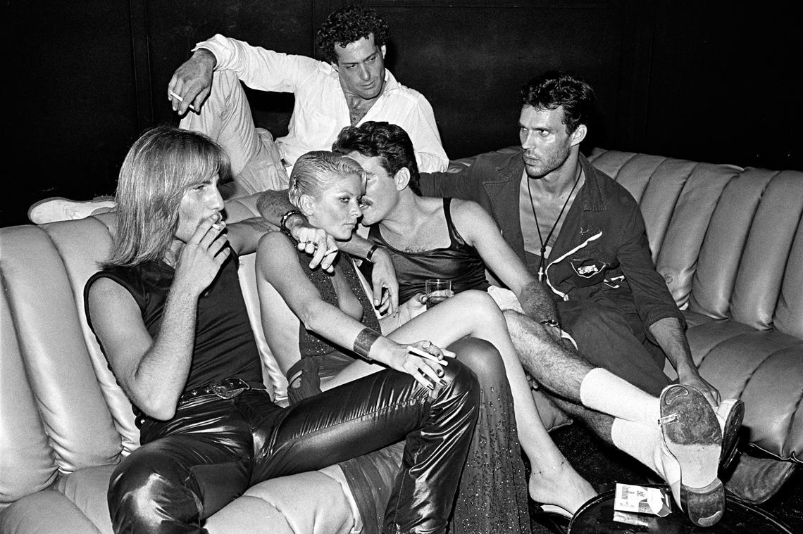 studio 54 couch, 1979 by bill bernstein