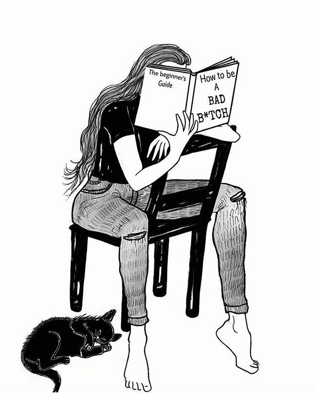 Me all weekend. Cat included. By @__danijelaa___