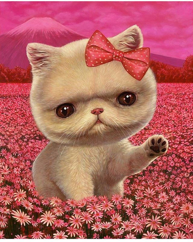 It's #internationalcatday so here's @caseyweldon's take on #hellokitty