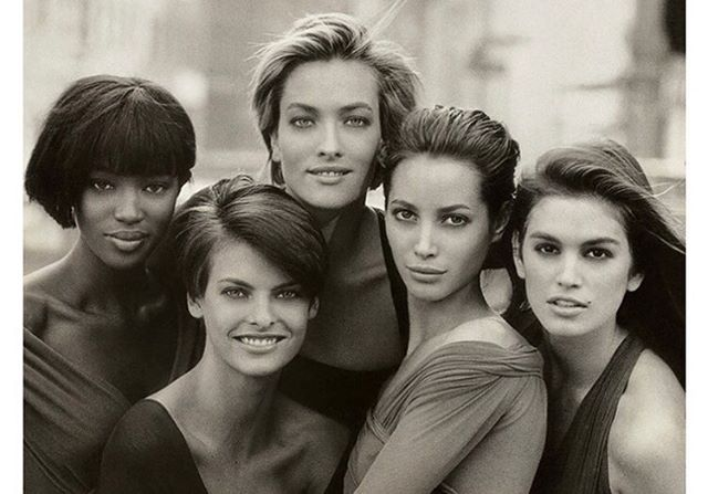 Icons only! Goodbye @therealpeterlindbergh - a master who defined an era