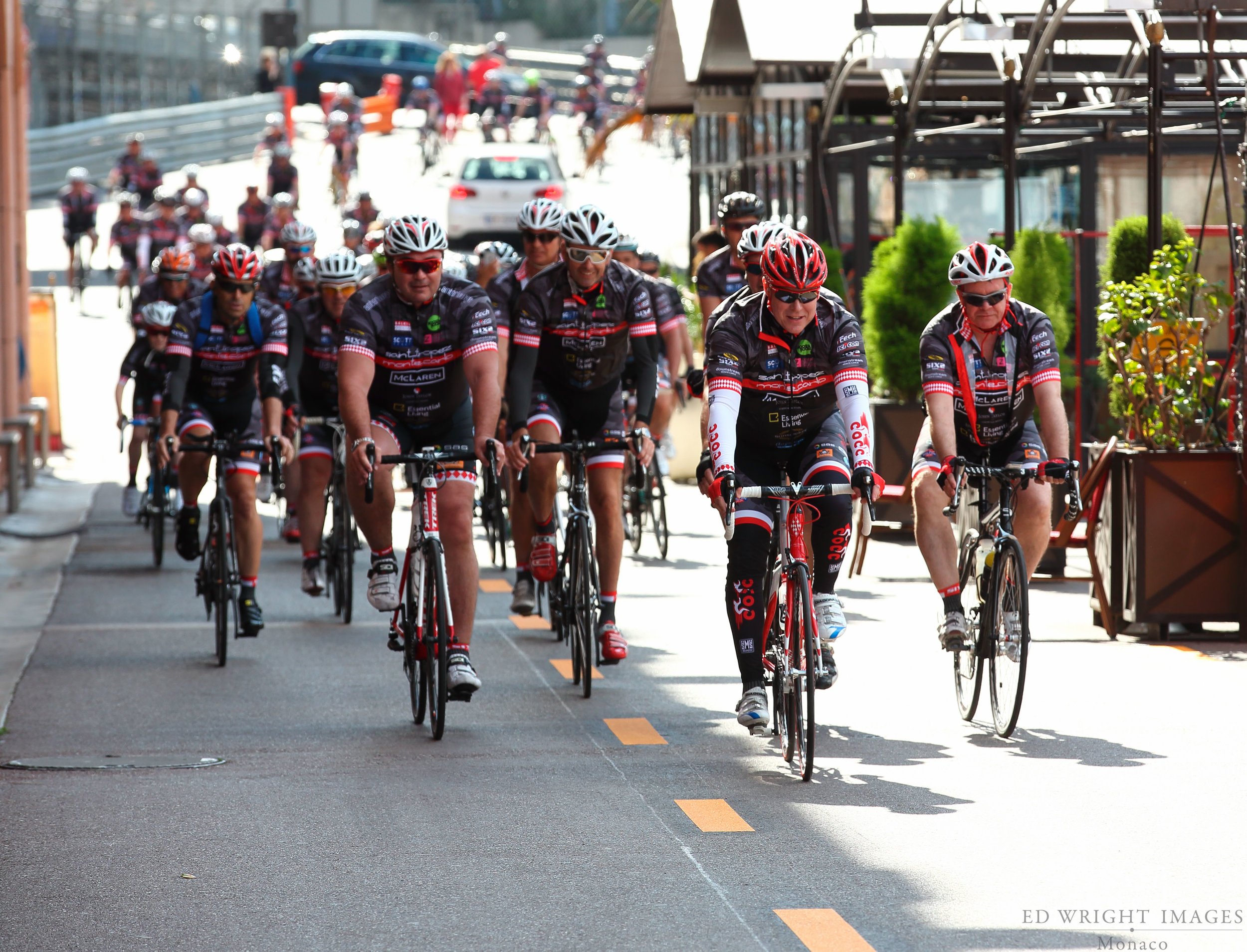 The Champagne & Oyster Cycling Club of Monaco   Great cause    Find out more