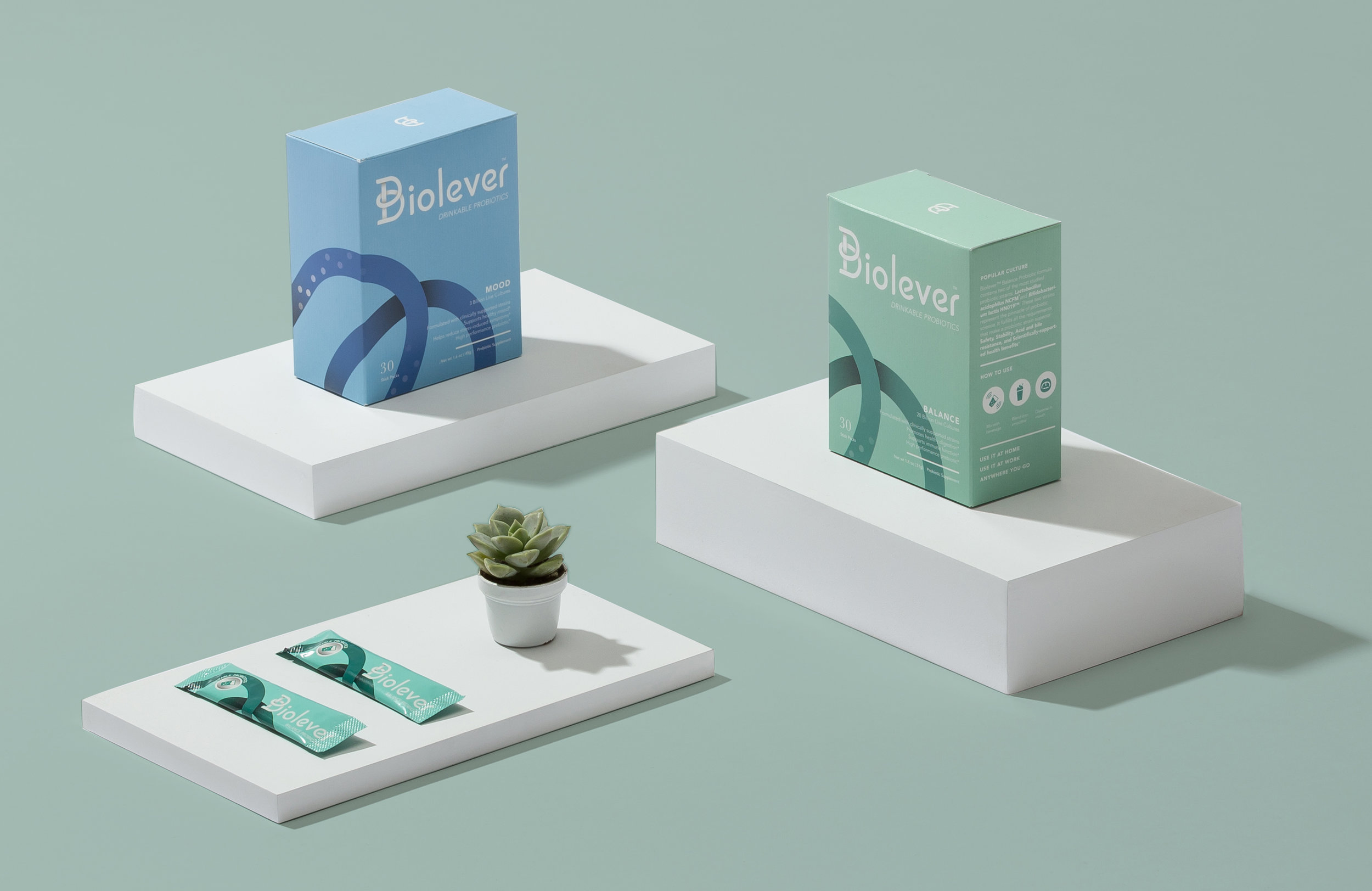 Biolever Probiotic Drinks / ReBranding