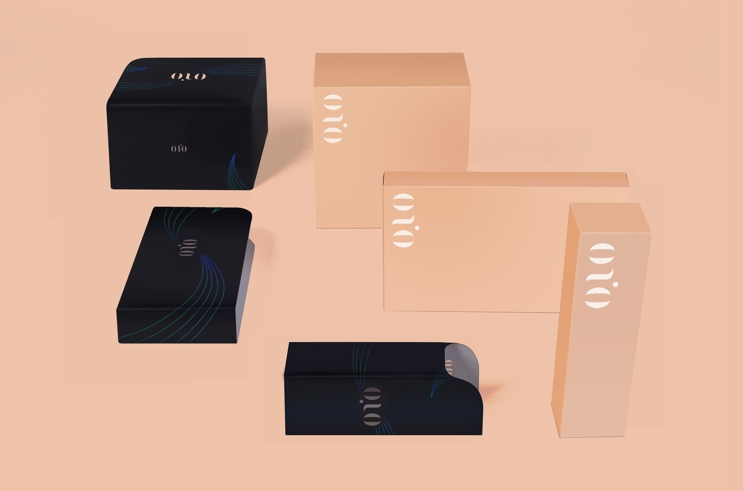 """onio"" Cosmetics / Packaging Design"