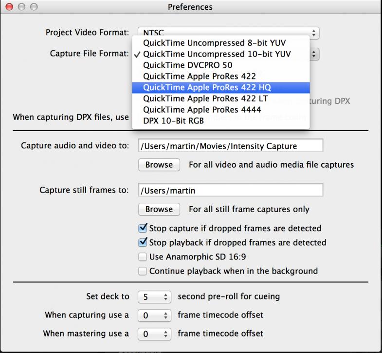 Video Codec For Mac Os X