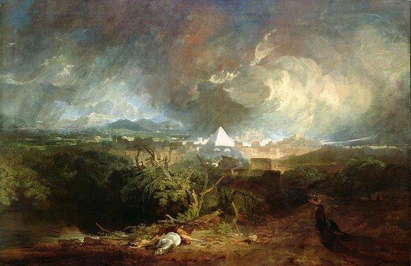 The Fifth Plague by Joseph Mallard William Turner