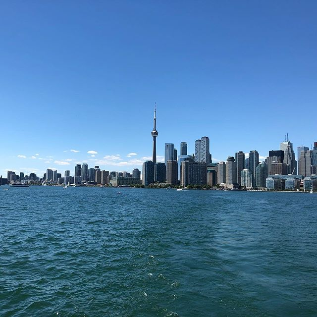 View of Toronto as I left for Ward Island to meet with Philip Shepherd, author of Radical Wholeness, with my new soul friends Elain and Gregor. Beautiful conversations. I am full of gratitude!  #philipshepherd #wardisland #embodiment #wholeness #radicalwholeness #soulmeeting #nocars #onlybicycles #torontoislands