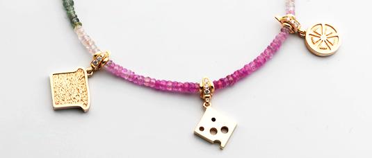 Delicious Charm Necklace