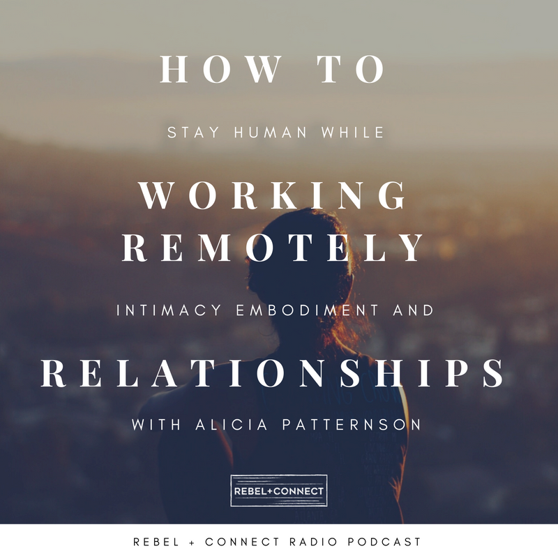 Keeping remote work human through connection and relationships