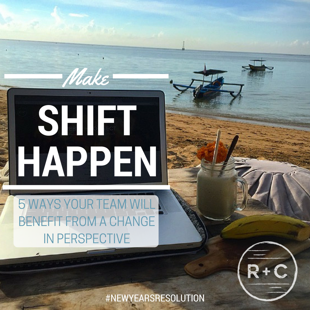 Change your remote team's perspective and see improvement.