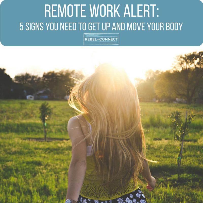 Remote work self care and movement