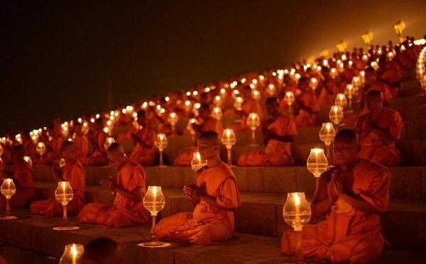 Sangha Day Magha Puja Day Fourfold