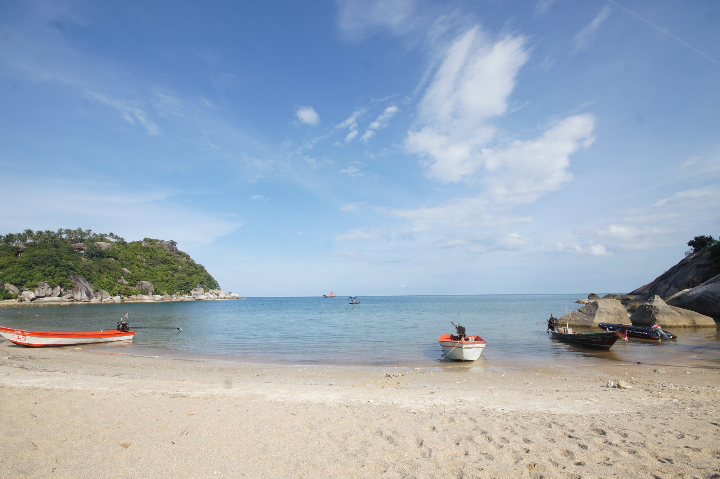 View on The Sanctuary Thailand private beach