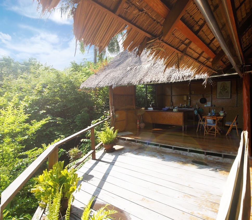 Tree house accommodation at The Sanctuary Thailand
