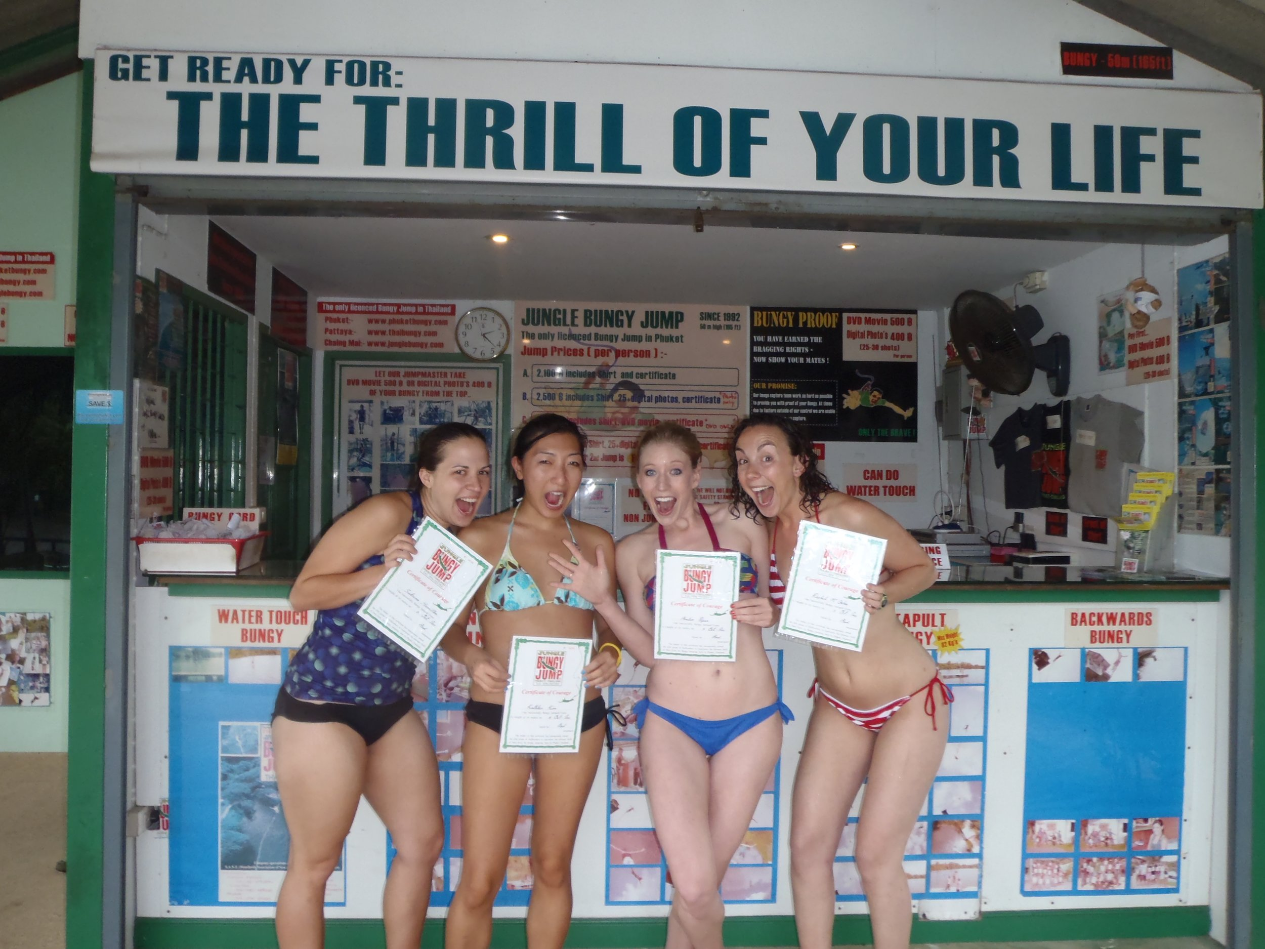 Bungy jump with your remote team and encourage healthy risk taking while having fun in Phuket Thailand!
