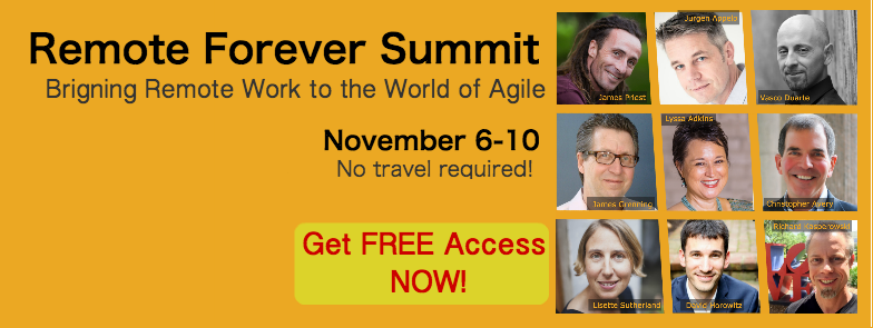 Remote Forever Summit - Bringing remote work to the world of agile