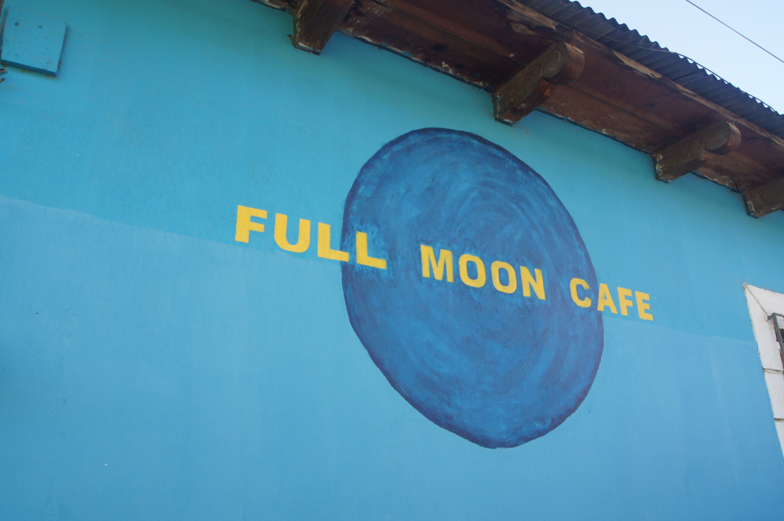 Full Moon Cafe in San Martin Jilotepeque.