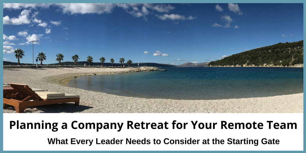 Planning a company retreat for your remote team is a huge job. These pro tips will increase your success.