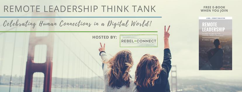 Remote Leadership Think Tank Free Facebook group