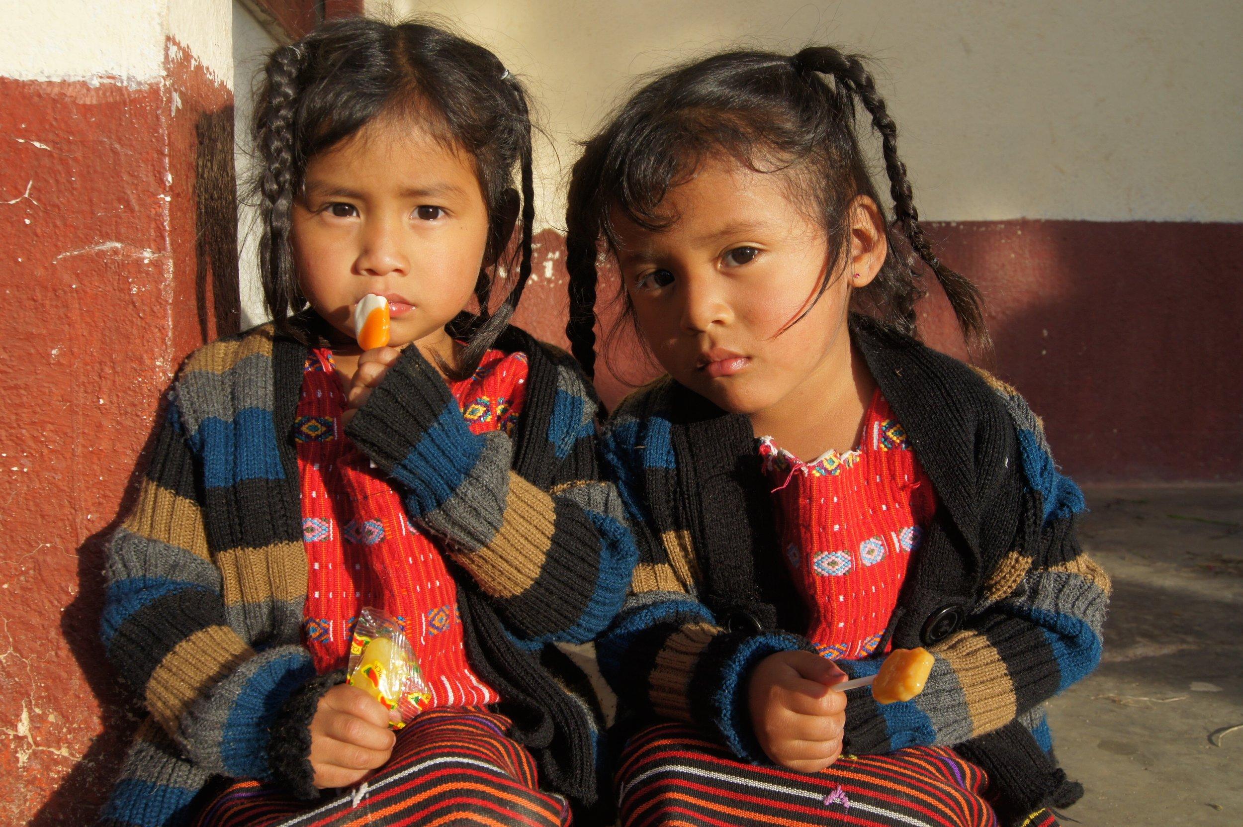 Kids in Guatemala