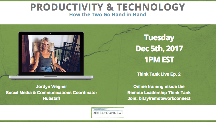 Productivity & Technology - How the Two Go Hand and Hand