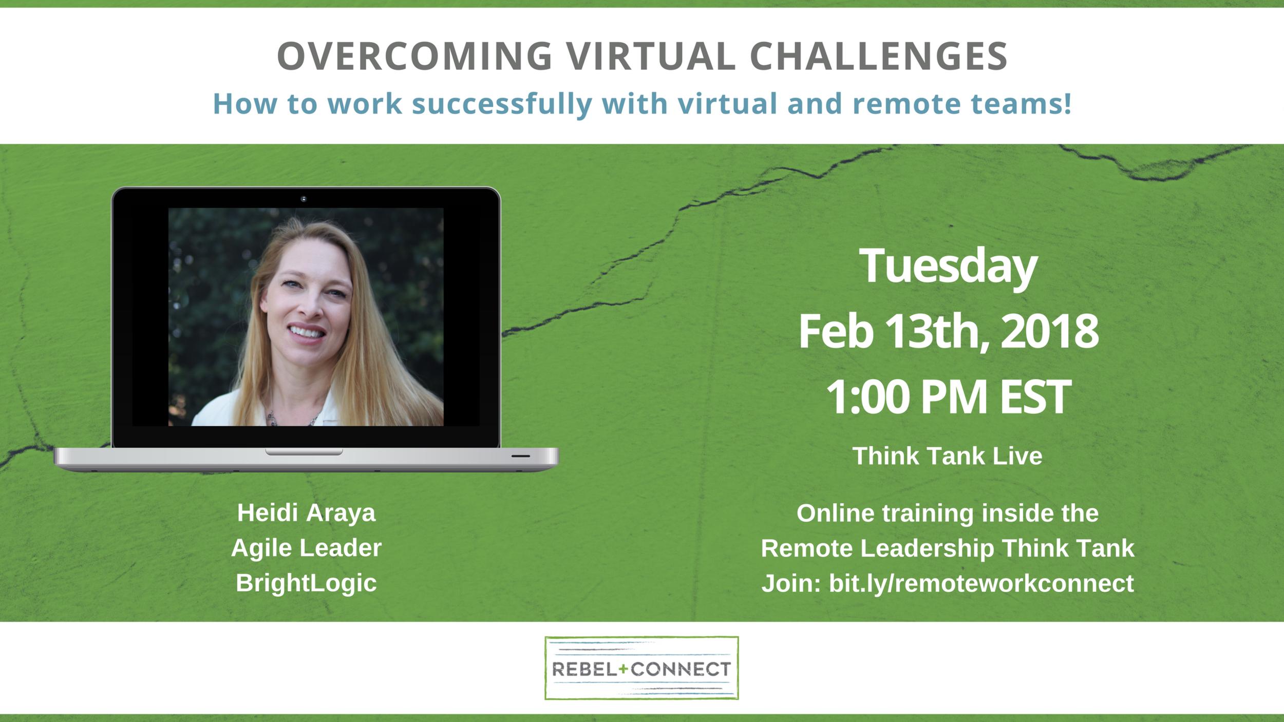 Leading virtual teams with Heidi Ayara