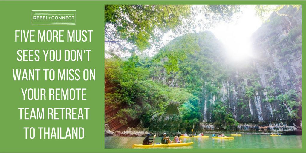 Company Retreat Thailand Destination Review