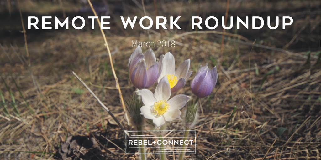 Remote work leadership, news, events, and buzz.