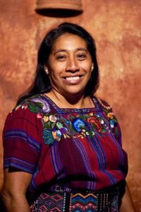 Konojel Community Center Director of Operations, Maria Mejia