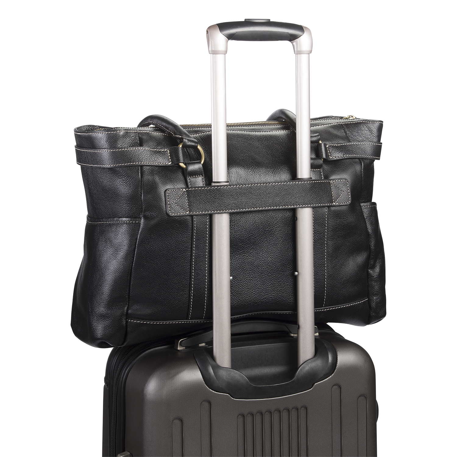 Remote work travel bags that work great with your luggage.