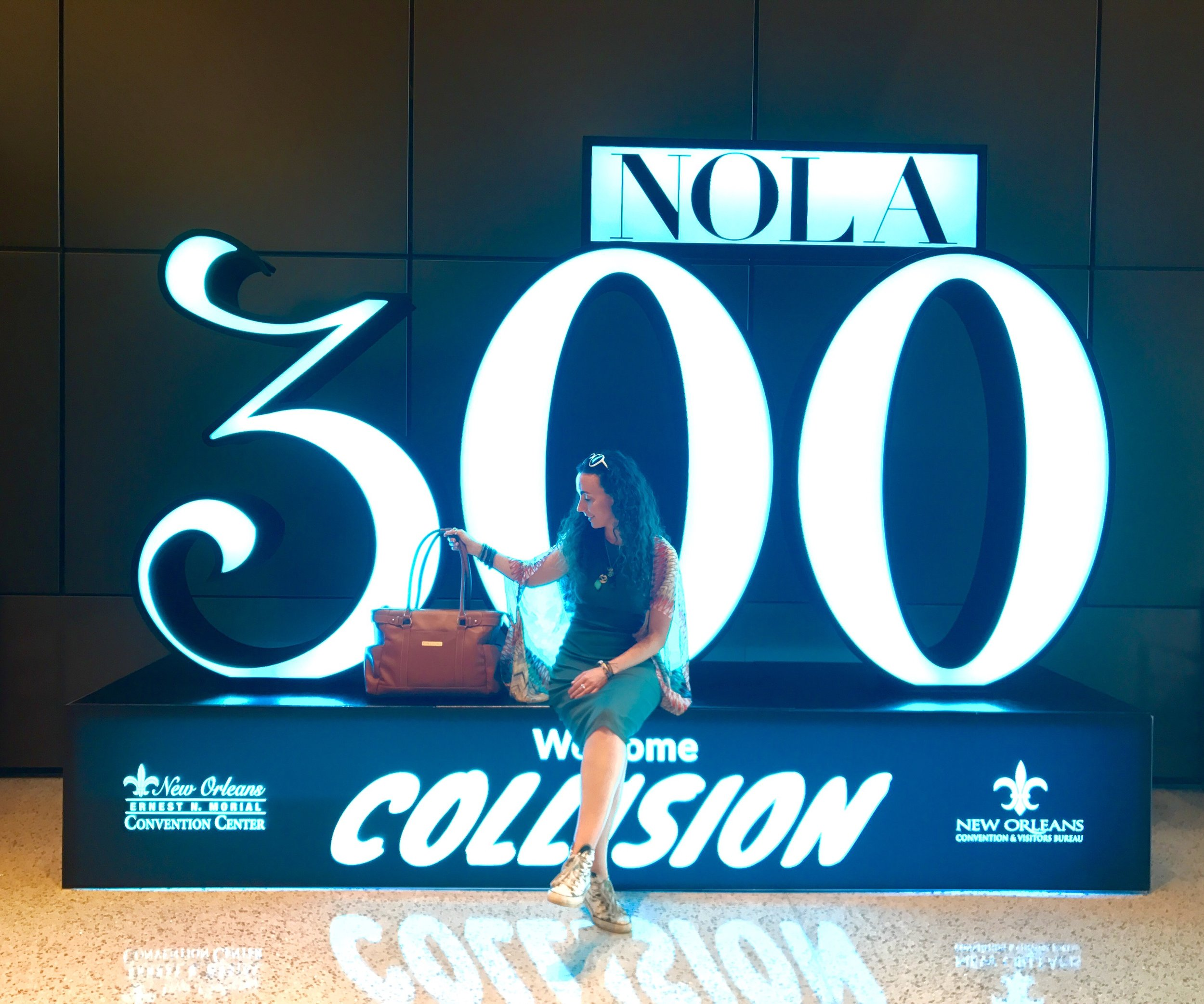 Collision Conference 2018 New Orleans 300 year celebration.