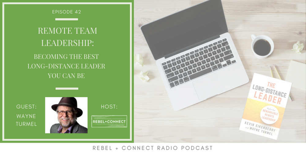 Remote Team Leadership Institute co-founder Wayne Turmel talks about his new book The Long-Distance Leader.