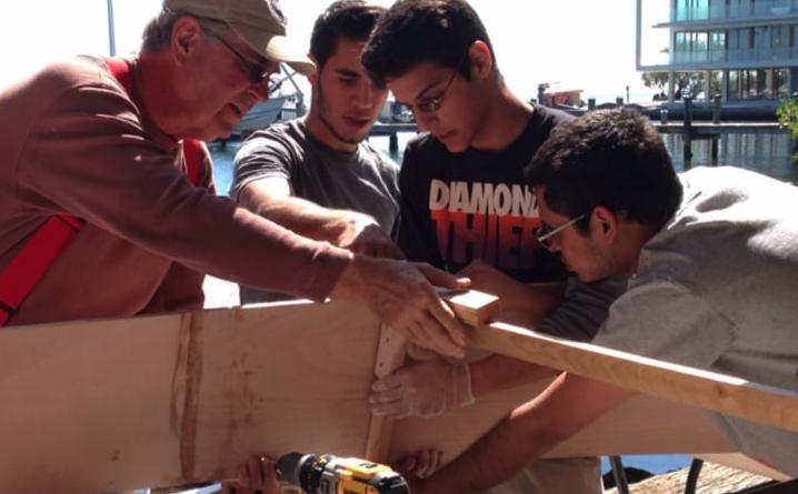 Hand Built Boat -
