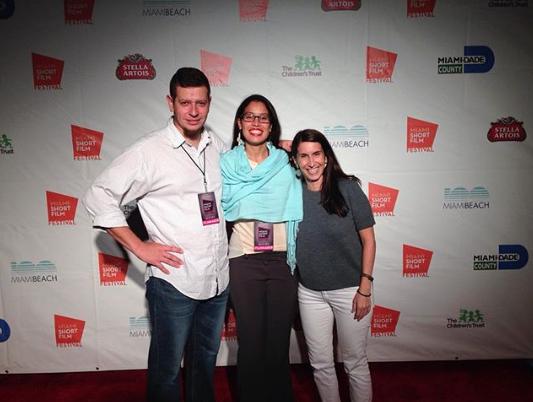 Miami Short Film Festival screening of previous film, Hand Built Boat