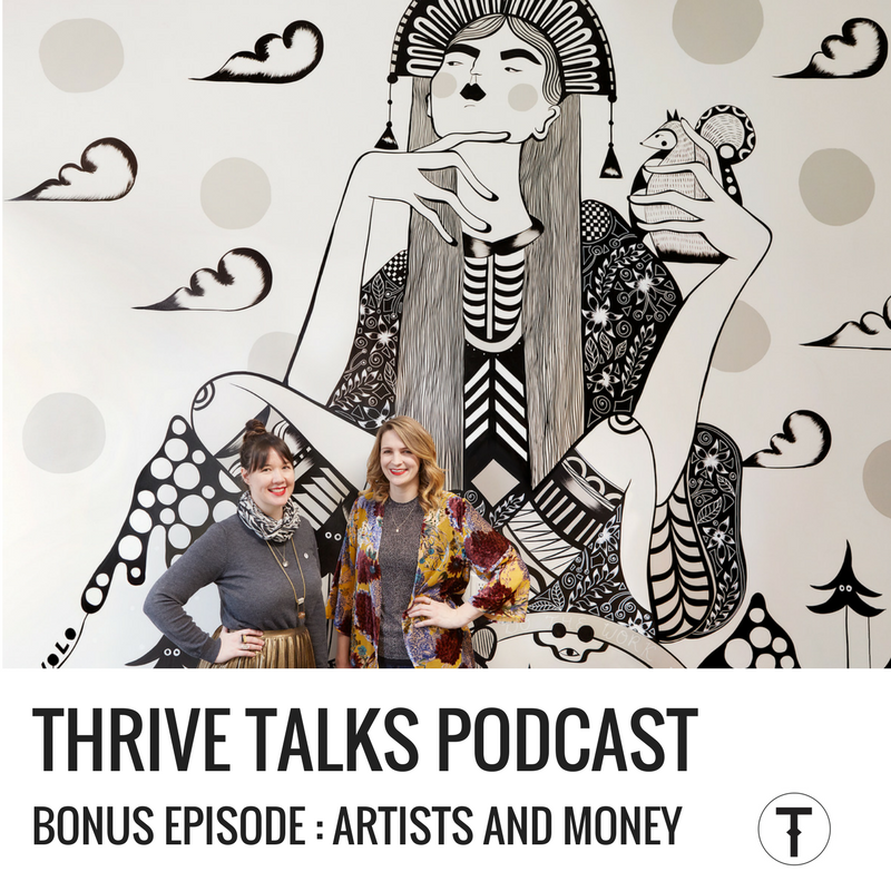Podcast on Markets with Yapes Paint April Lacheur