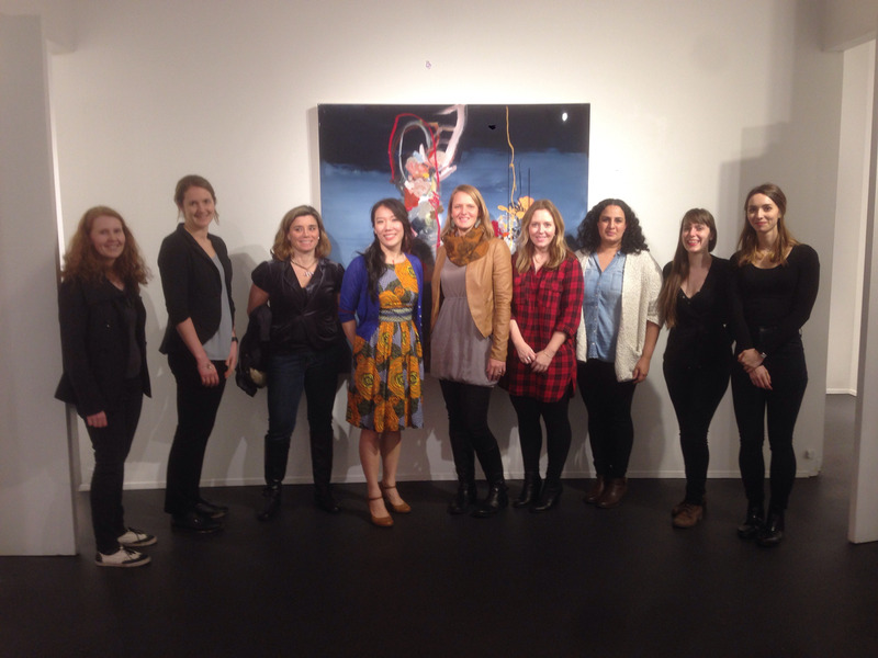 THRIVE's first field trip in Vancouver led by the unicorn of the art world Pennylane Shen.