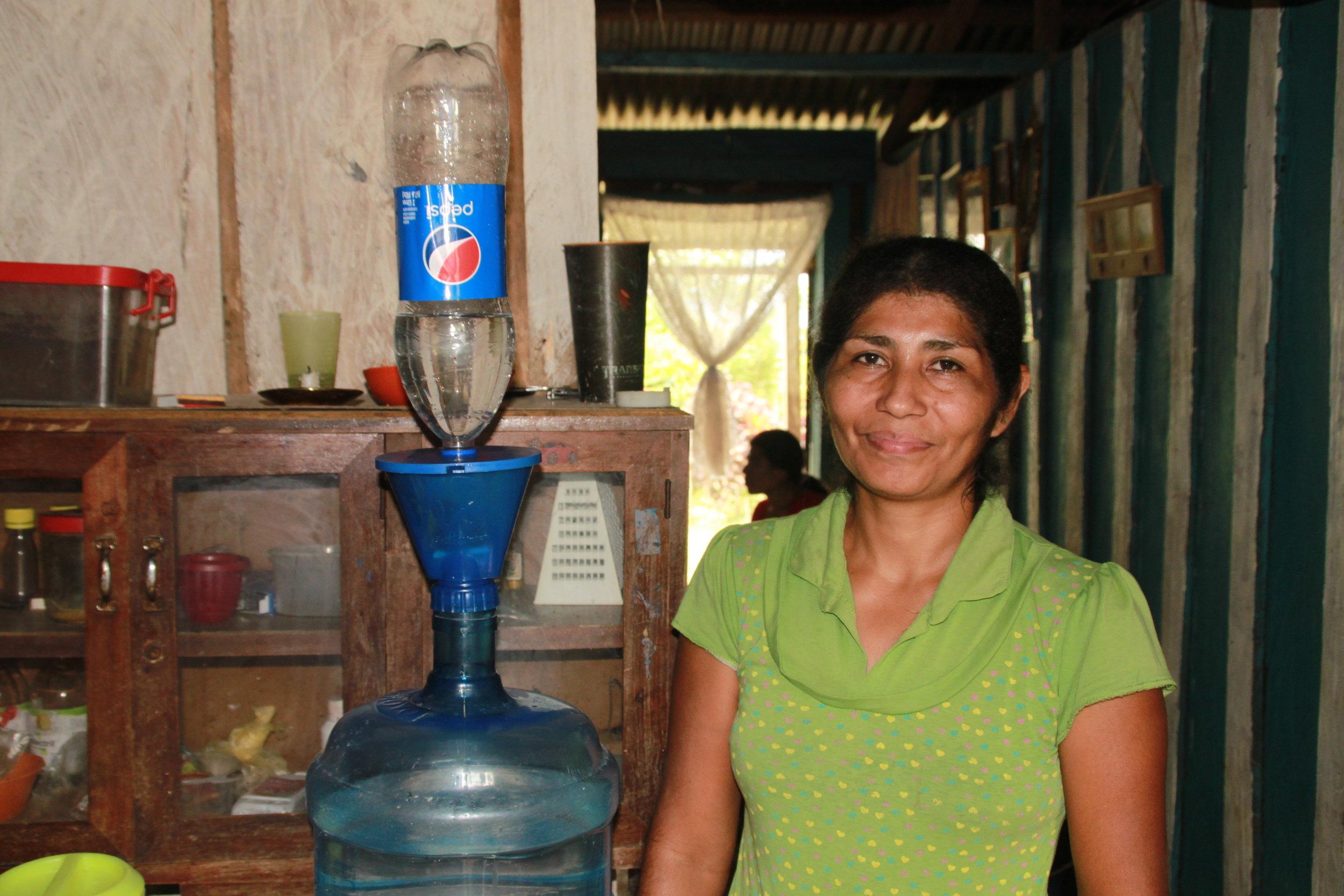 Household trials in Honduras