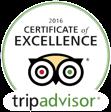 Trip Advisor Restaurant Winner