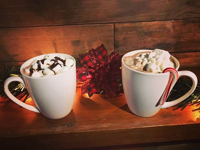 Come try an Adult Hot Cocoa tonight at The Shed!