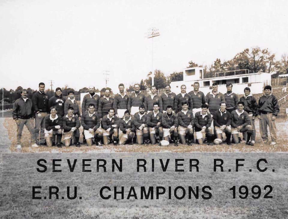Severn River ERU Champions 1992