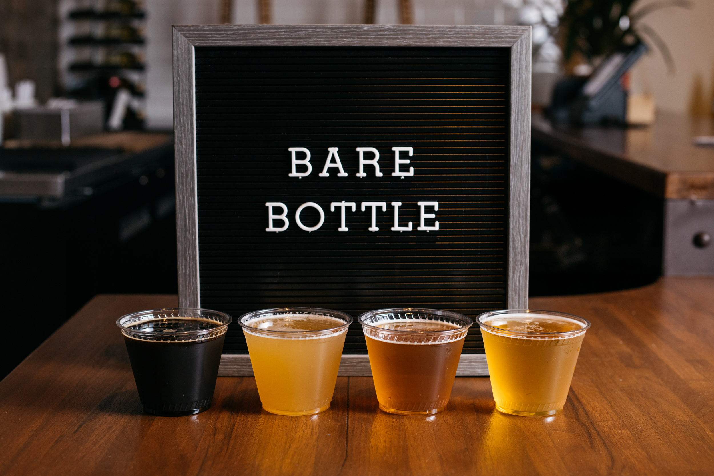 BARE BOTTLE BEER - ROTATING SELECTION