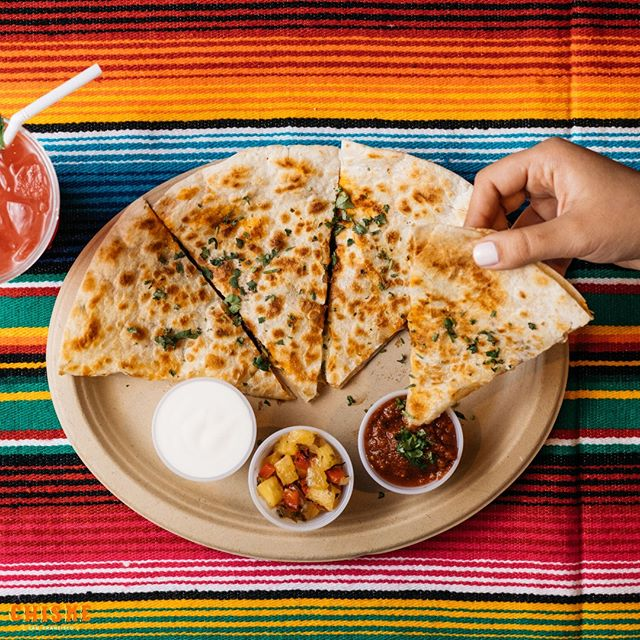 Need a lunch suggestion? You can't go wrong with our giant quesadillas 😍 #chismesf