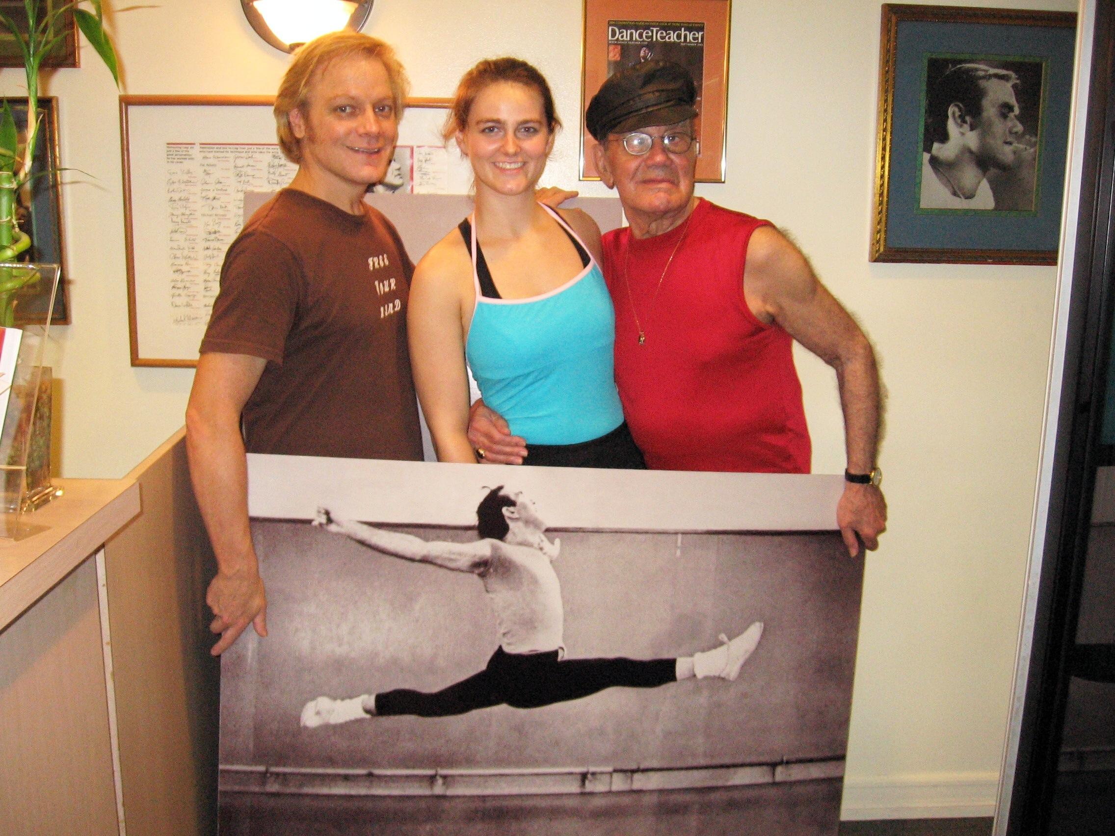 Left to Right: Francis J. Roach, Jen Westphal and Luigi @ Luigi Jazz Centre, NYC 2006