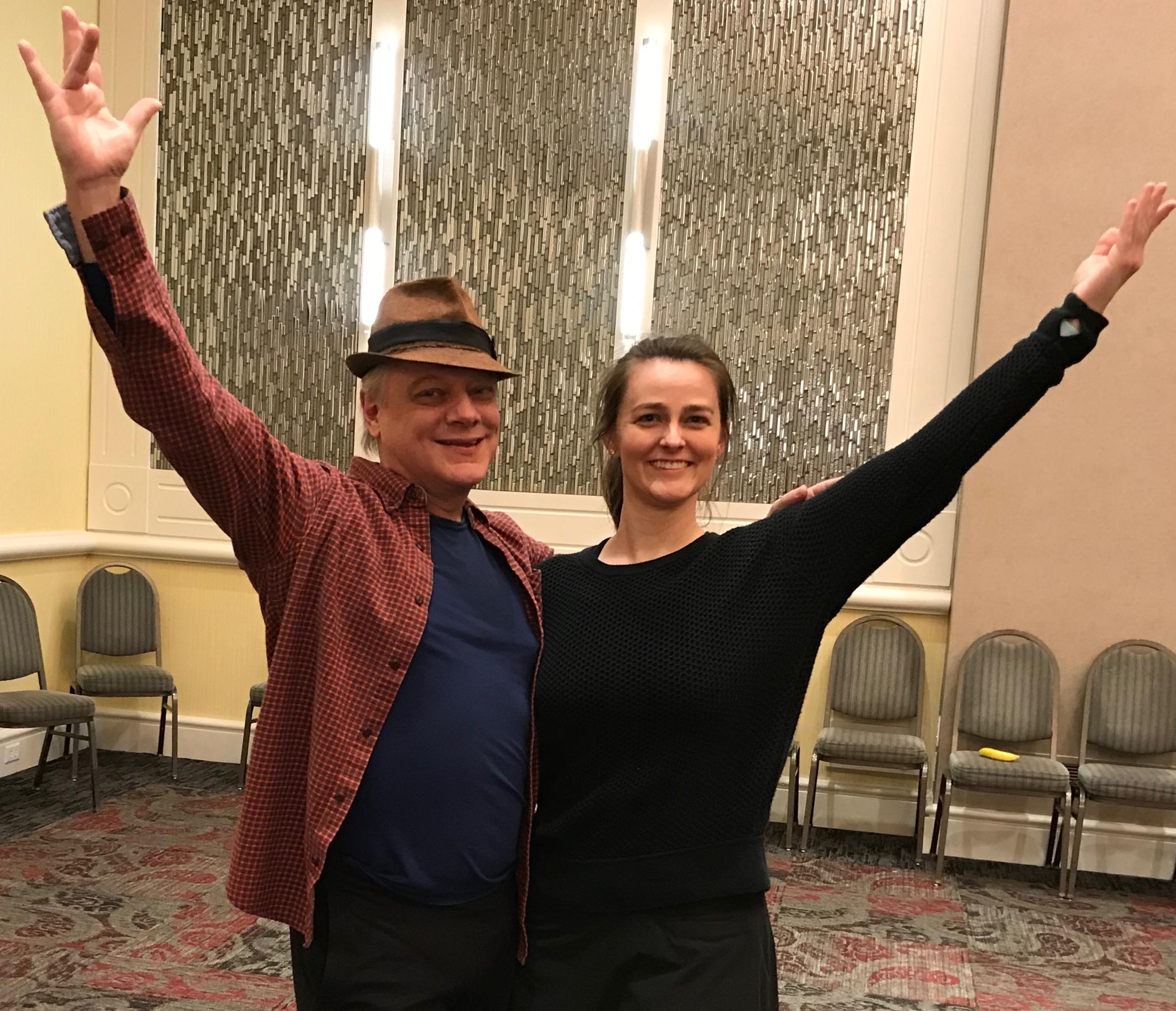 Francis J. Roach & Jen Westphal @ IUPUI Luigi Jazz Dance Master Class, Indianapolis, Indiana 2019