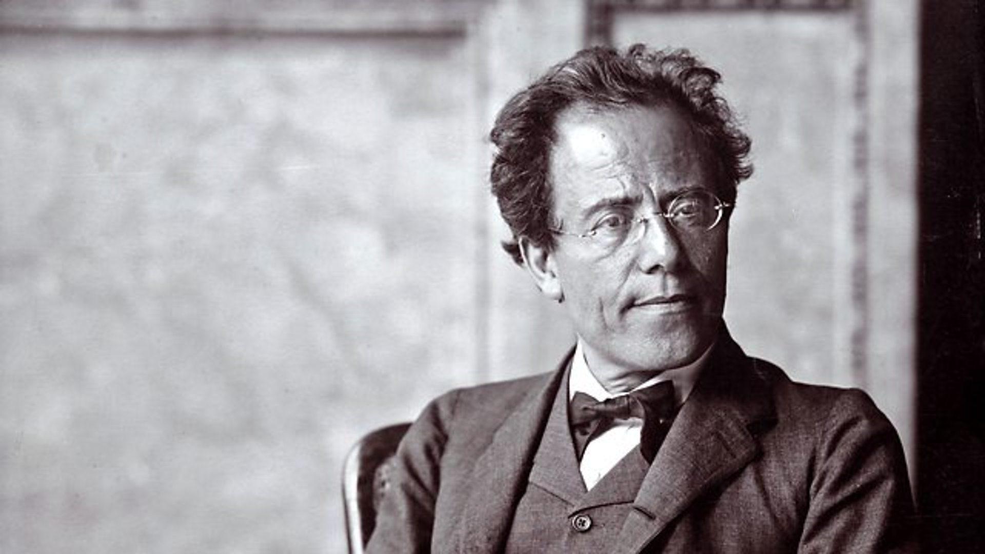 Aged Gustav Mahler