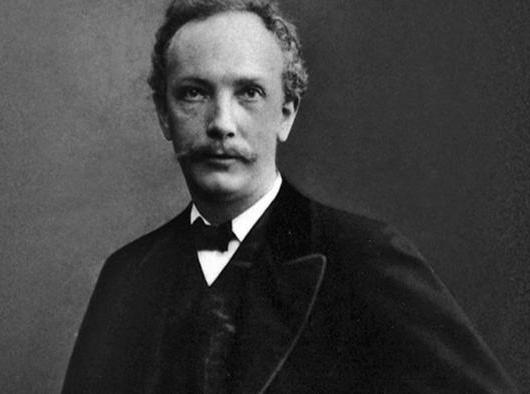 Aged Richard Strauss