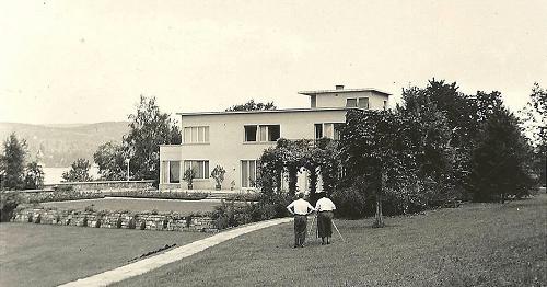 Rachmaninoff's summer villa in Hertenstein on Lake Lucerne