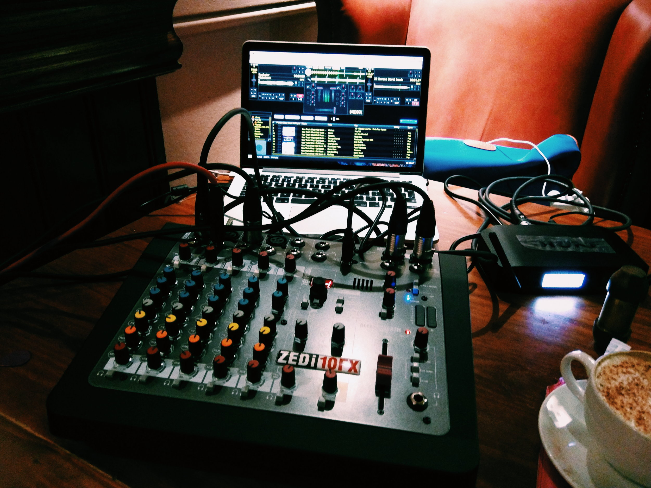 Actual DJ software with a great playlist!