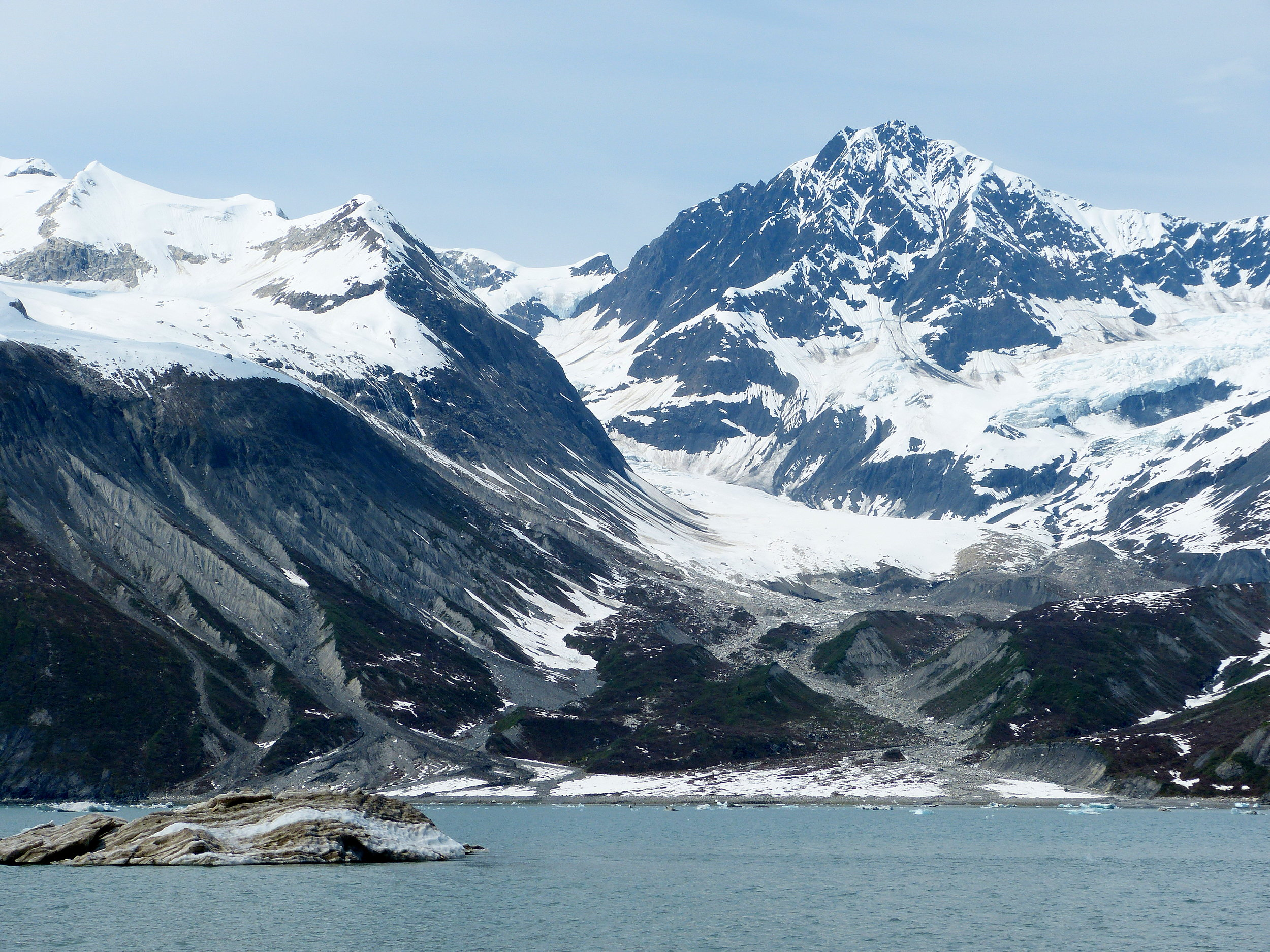 Glacier Bay is a raw young landscape, where receding ice gives birth to new salmon streams.